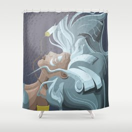 Kida from Atlantis Shower Curtain