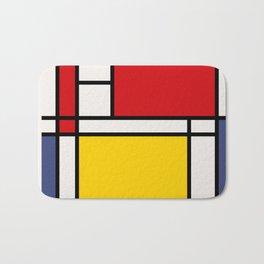 Mondrian De Stijl Bath Mat
