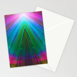 Bubble Fan Stationery Cards