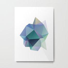 Kristall Metal Print