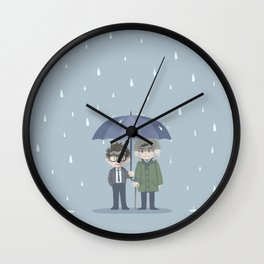 Pacific Rim - Rainy Day Wall Clock