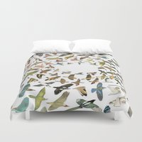 birds Duvet Covers featuring Birds by Ben Giles