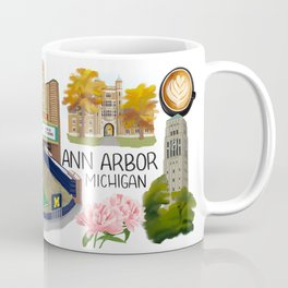 Ann Arbor, Michigan Coffee Mug