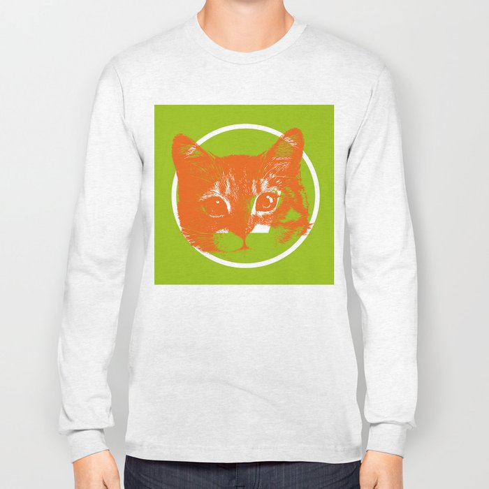 ORANGE CAT Long Sleeve T-shirt