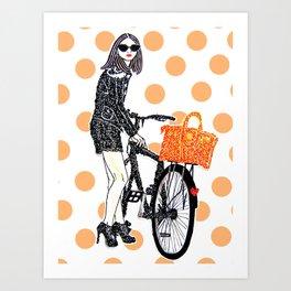 Olivia Palermo Art Print