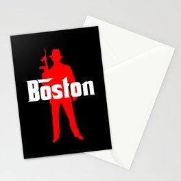 Boston mafia Stationery Cards