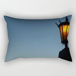Medieval Sunset Rectangular Pillow