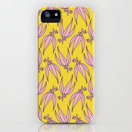 Pink Gumnuts iPhone Case