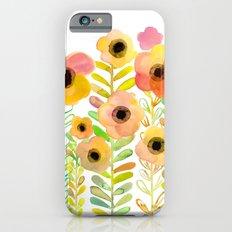 Peony field iPhone 6s Slim Case