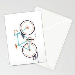 speed bike Stationery Cards