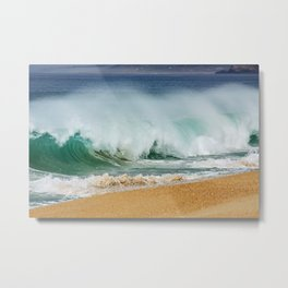PORTUGAL ... wave II Metal Print