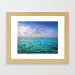 Caribbean Sea Framed Art Print