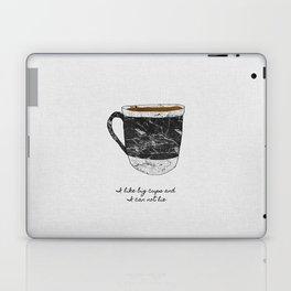 I Like Big Cups Laptop & iPad Skin