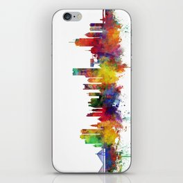 Boston Massachusetts Skyline iPhone Skin