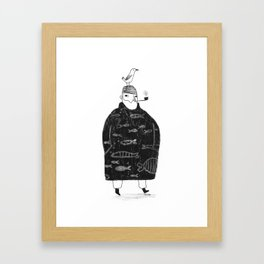 The Sailor and the Seagull Framed Art Print