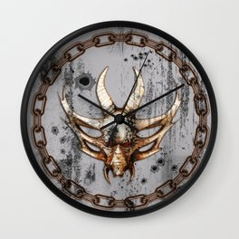 Awesome skull Wall Clock