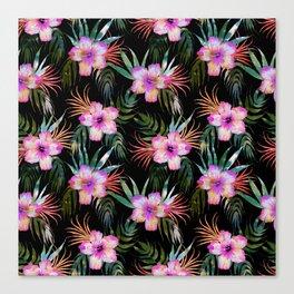 Honolua Tropic Black Canvas Print