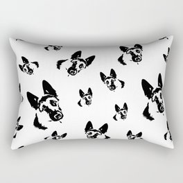 German Shepherd Dog Gifts Rectangular Pillow