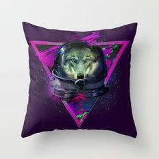 Lonely Astronaut Throw Pillow