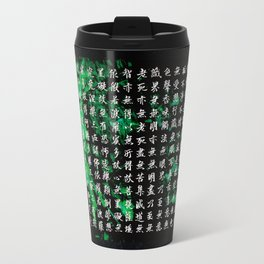 The Heart Sutra /calligraphy Travel Mug