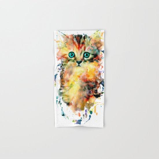 Kitten Hand & Bath Towel