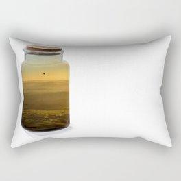 Bottled balloon Rectangular Pillow