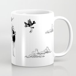 Tiki mask jetpack Coffee Mug