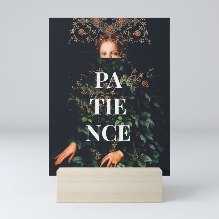 Patience Mini Art Print