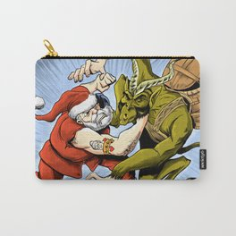 Santa Vs the Krampus Carry-All Pouch