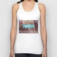 wanderlust Tank Tops featuring Wanderlust by AA Morgenstern