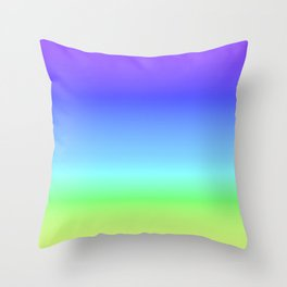Calm - Dusk Throw Pillow