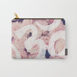 OM: Breath of Floral Carry-All Pouch
