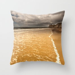 The Great Tor Gower Throw Pillow