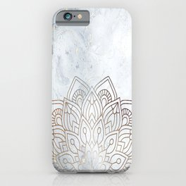 G.Marble-Wall Mandala iPhone Case
