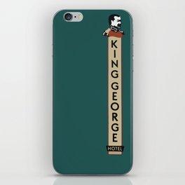 The King George Hotel iPhone Skin