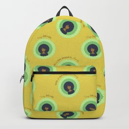 Afro Maze Affirmations Small Backpack