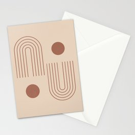 Minimal Geometric 72 Stationery Cards