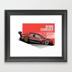 Bernd Schneider - 2006 Hockenheim Framed Art Print