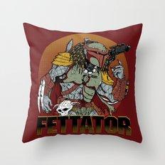 Fettator Throw Pillow