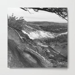 Yellowstone River At Lava Creek Metal Print