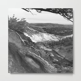 Yellowstone River At Lava Creek Metal Print