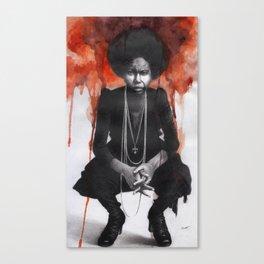 Silent Nina Canvas Print