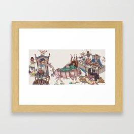 Entremet Framed Art Print