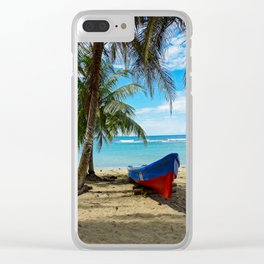 Pura Vida in Costa Rica Clear iPhone Case