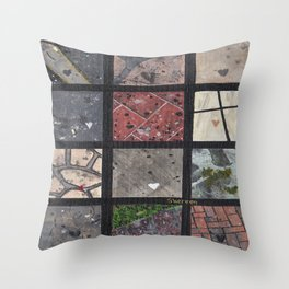 Love on the ground Throw Pillow