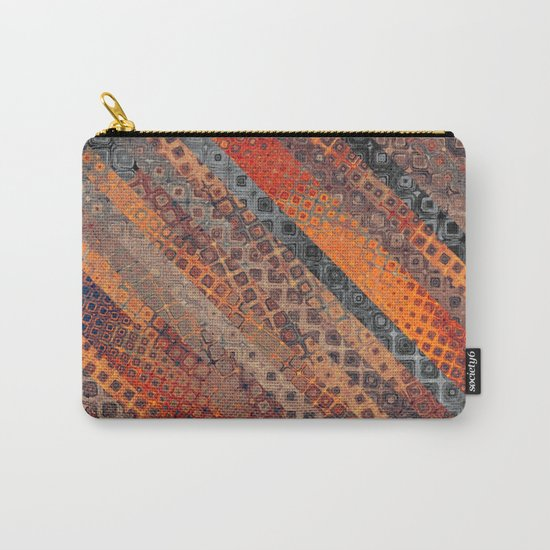 Orange Fantasy Carry-All Pouch