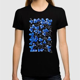 Cherry Blossoms – Blue Palette T-shirt