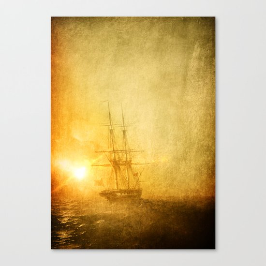 Heading West Canvas Print