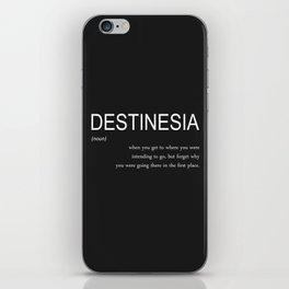 destinesia iPhone Skin