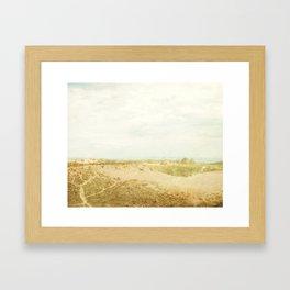 Sleeping Bear Sand Dune Framed Art Print